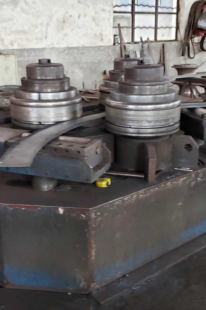 hydraulic flat bar bending machine