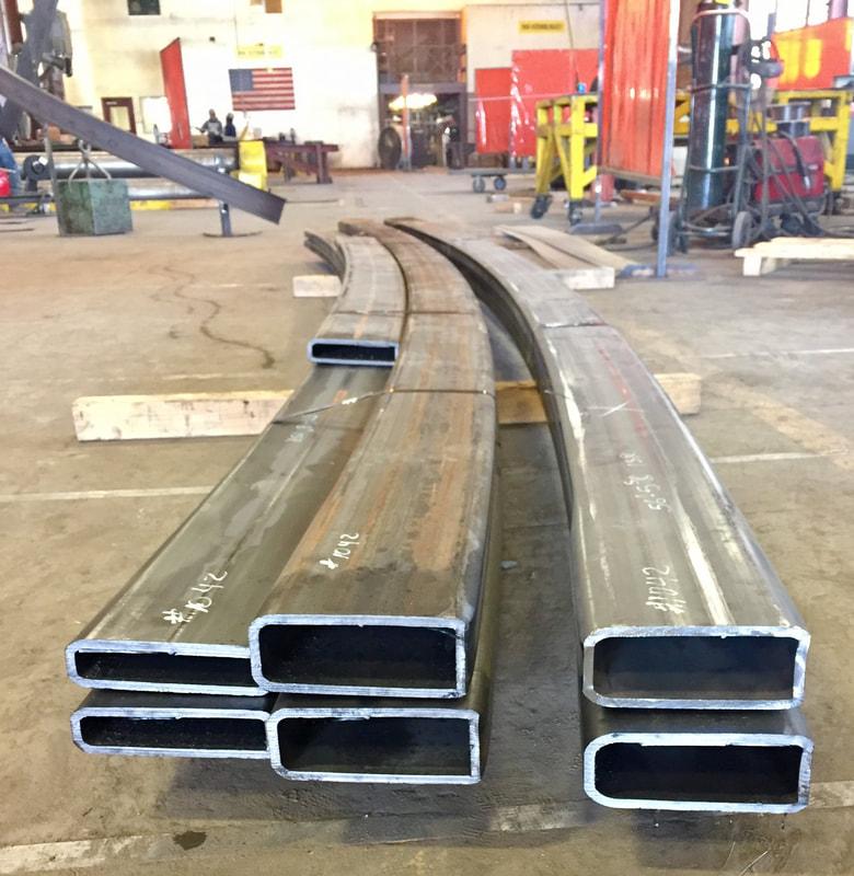 bent rectangular tubing