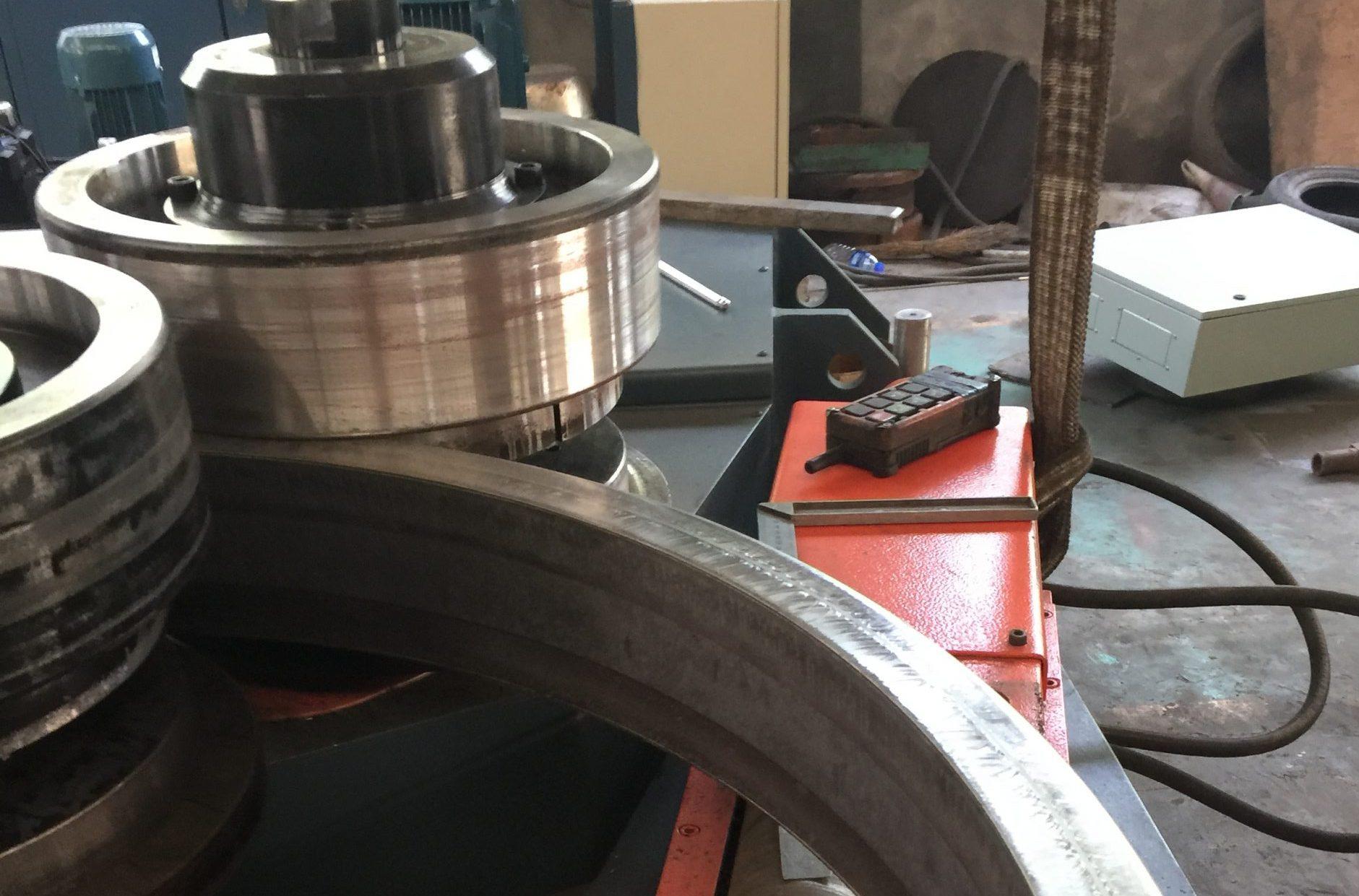 u channel bending machine
