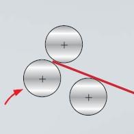 Preliminary bending in section bending