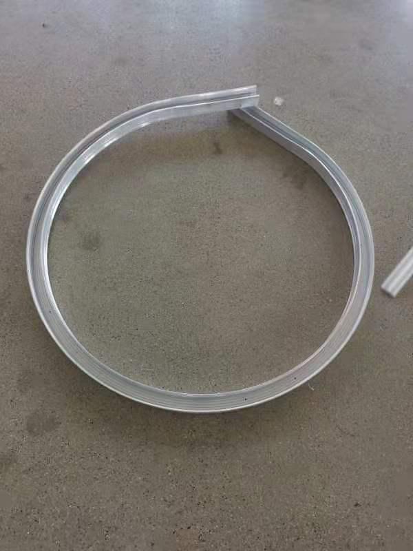 Bending C channel aluminum profile