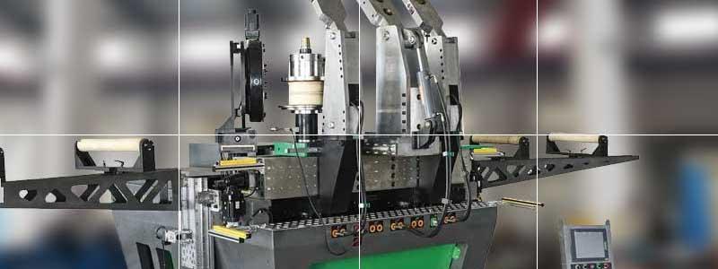 aluminum profile bending machine
