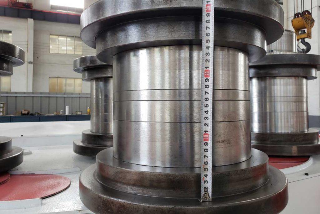 w24s 250 4 roller profile bending machine