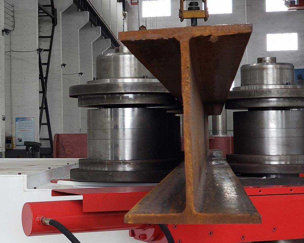 H beam bending machine