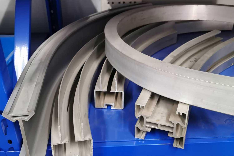 what is aluminum profile bending